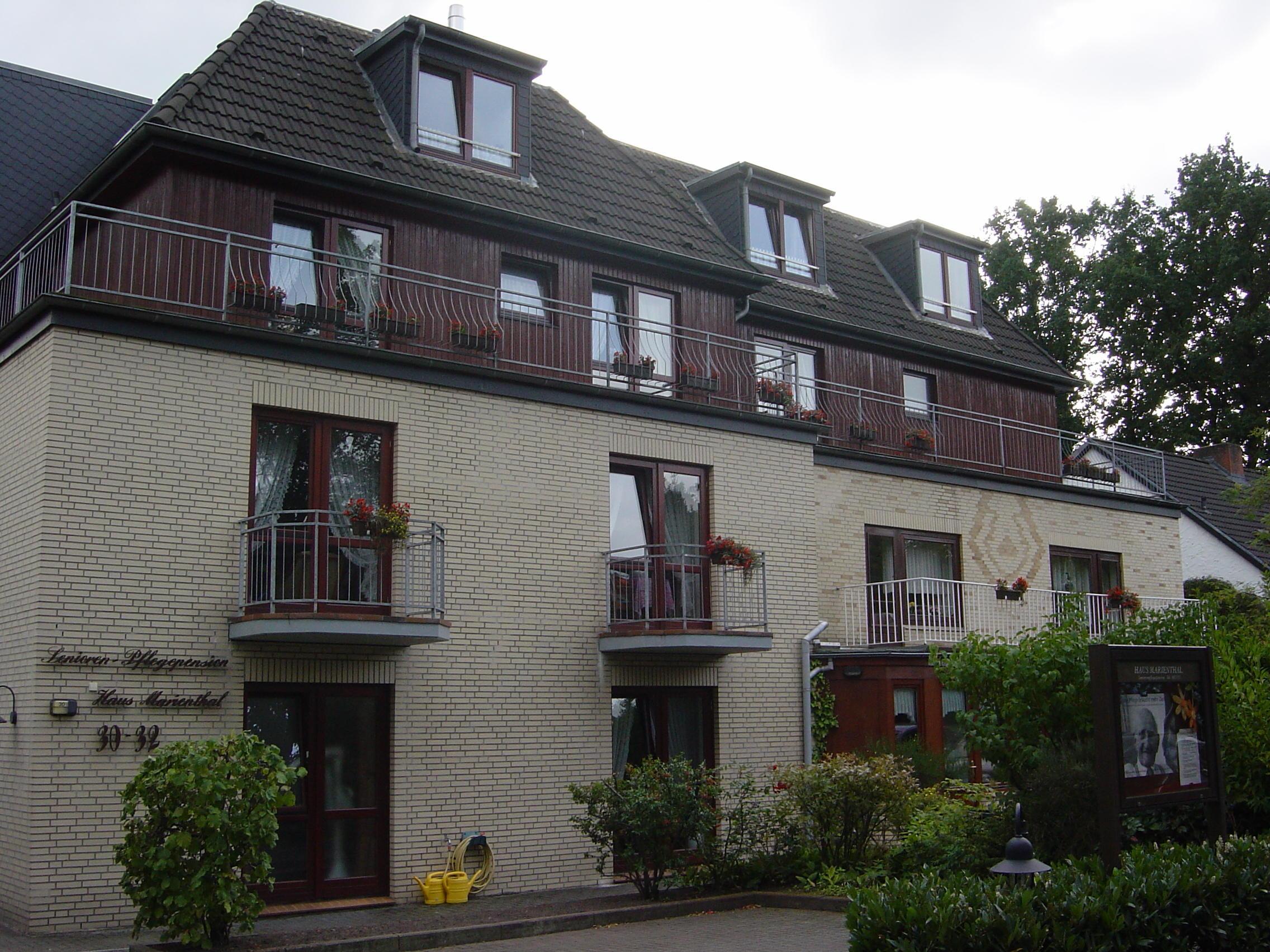 Haus Marienthal Seniorenpflegepension